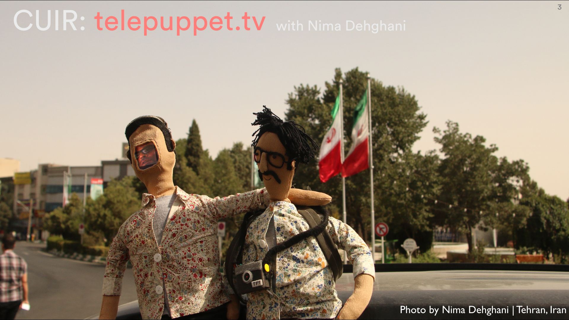 Telepuppets return to Iran