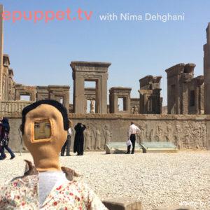 Telepuppets visit Persepolis!