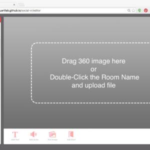 SocialVR - Browser-based Editor