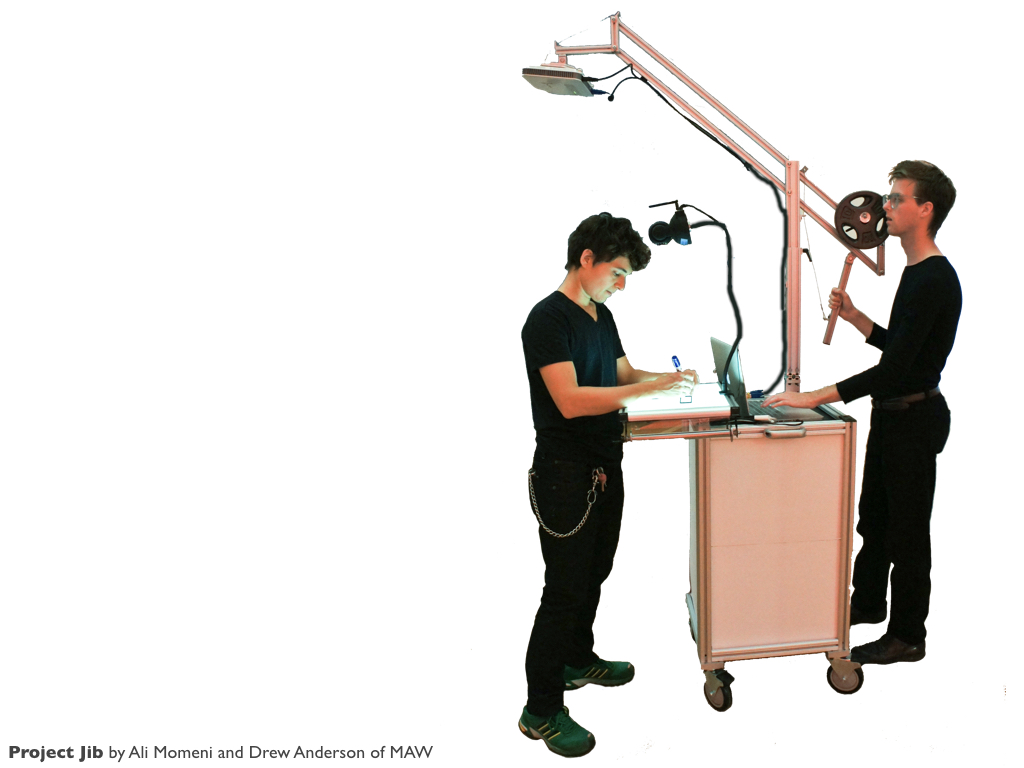 Mobile Projection/Drawing Jib